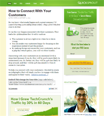 Top 7 Content Marketing Blogs To Read In 2014 - Quick Sprout