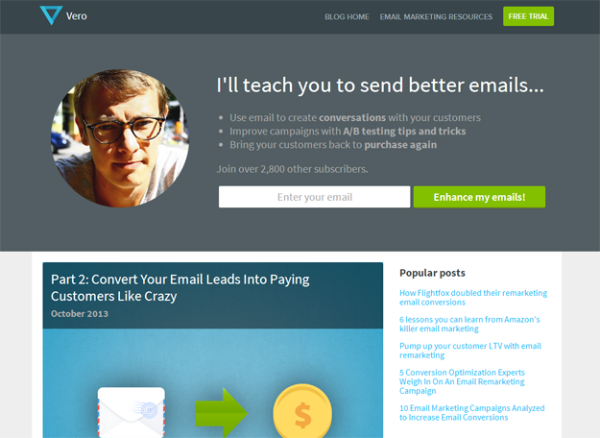 Top 7 Content Marketing Blogs To Read In 2014 - Vero's Email Marketing Blog