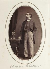 Charles Dickens, c.1865.