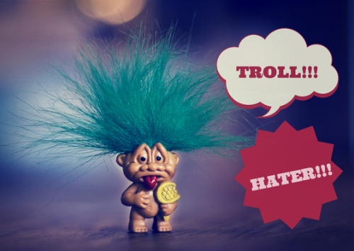 negative criticism troll or hater