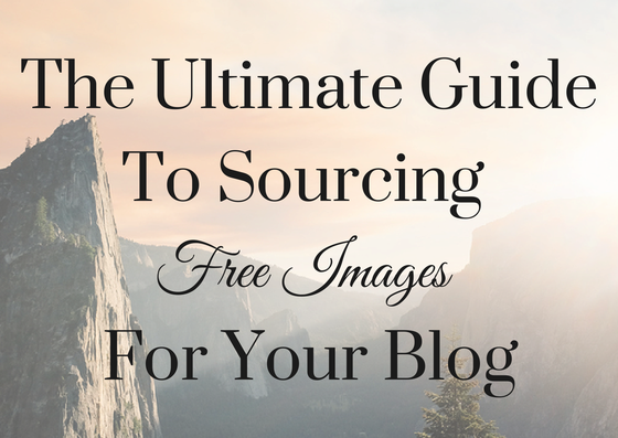 Sourcing free images