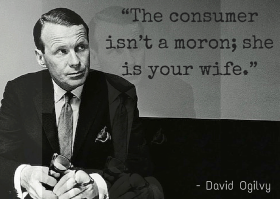 quotes content marketing david ogilvy