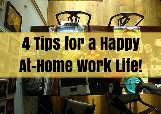 4 tips for work from home!