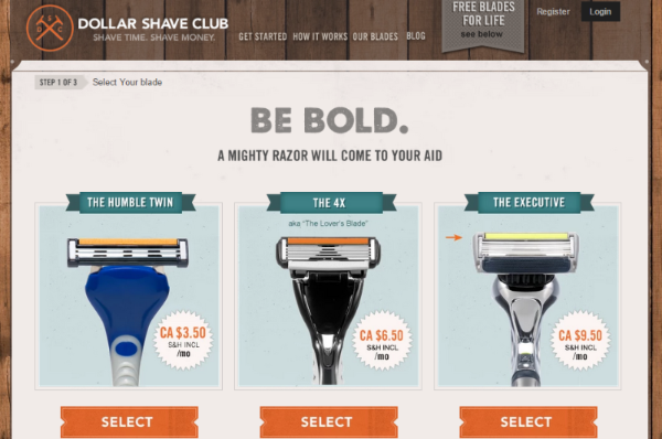 dollarshave - business built on inbound marketing