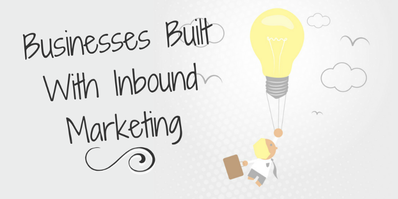 business built with inbound marketing