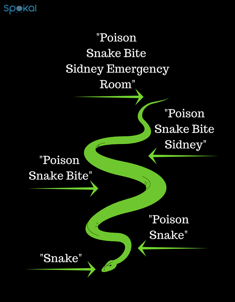 long tail keywords snake bite - spokal's 3 pillars of inbound marketing