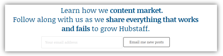 hubstaff - businesses built on inbound marketing
