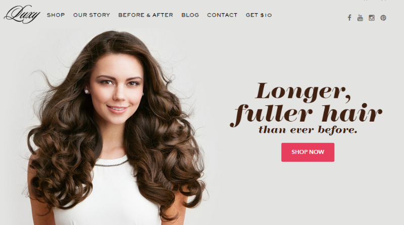 luxyhair - Businesses Built On Inbound Marketing
