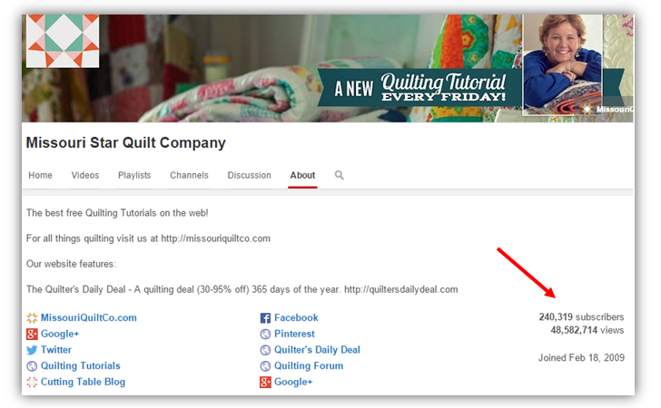 missouri star quilt company - businesses built on inbound marketing