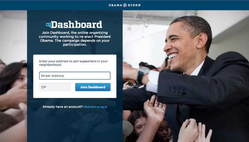 obama the dashboard campaign re-election - marketing automation case study