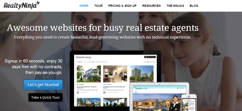realtyninja - businesses build on inbound marketing