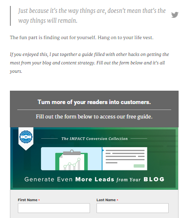 How to Create Compelling Call-To-Actions that Captures Leads (Content Marketing Series Part 9 of 10)