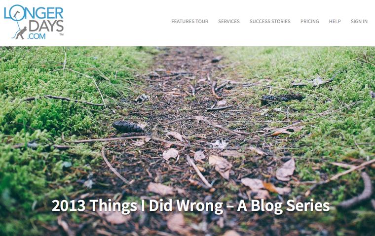 LongerDays blog