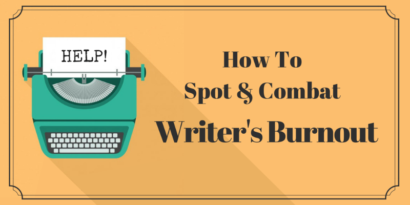 writer's burnout