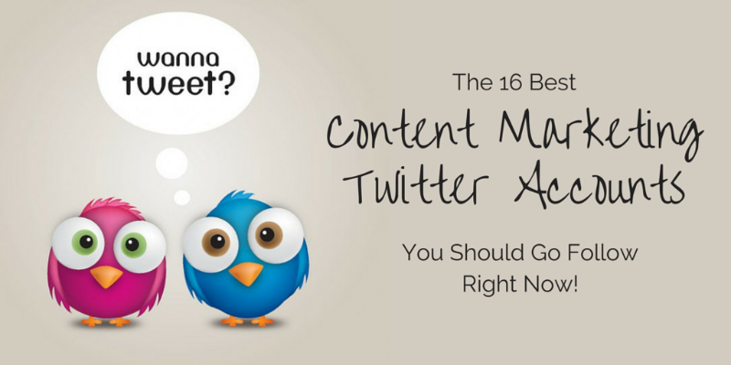 content marketing twitter accounts to follow