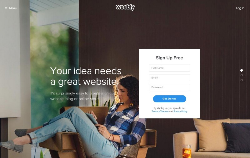 We created a site in Wix, Weebly, Squarespace & WordPress – See ...