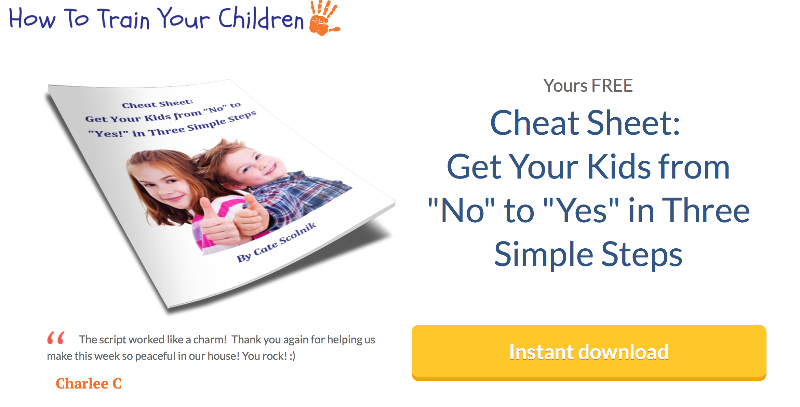 Opt-in: Get Your Kids From No to Yes in Three Simple Steps