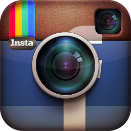 Instagram and facebook logo
