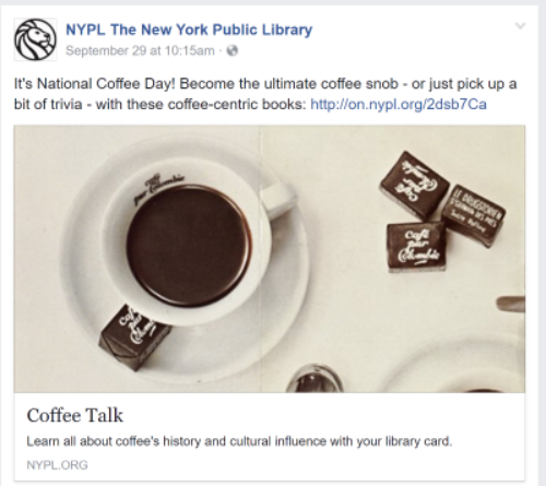 New York Public Library Content
