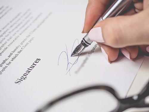 Signatures, Terms and Conditions, Contract - Credits to https://costculator.com/