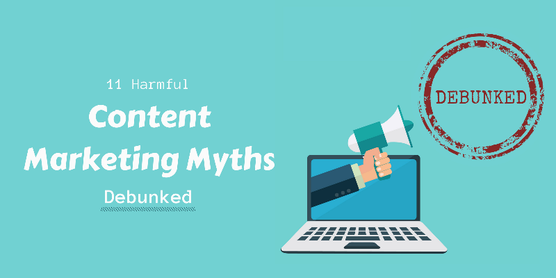 content marketing myths