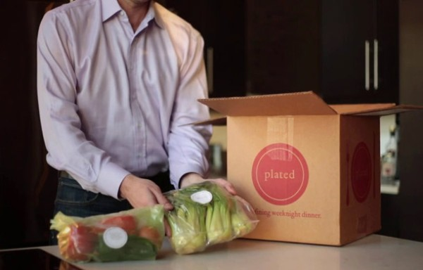 plated box and food video content marketing examples