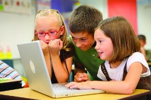 Children at school video content marketing examples