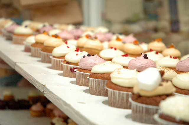 power Example of Content Marketing - Foiled Cupcakes -