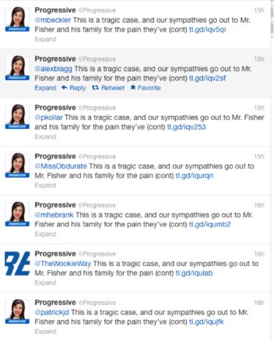 progressive social media automation fail