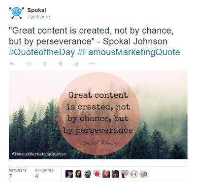social media automation spokal example