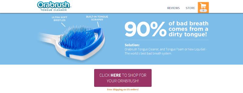 Orabrush - Powerful Content Marketing Examples
