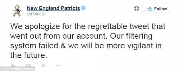 """"""" Read With Caution: 15 Of The Absolute WORST Marketing Campaigns From 2014 - new england patriots"""