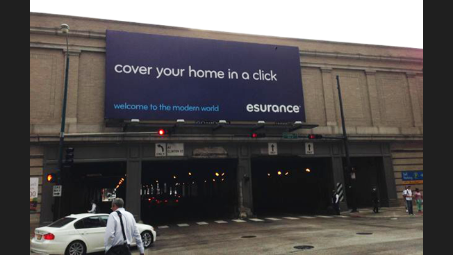 """"""" Read With Caution: 15 Of The Absolute WORST Marketing Campaigns From 2014 - esurance"""