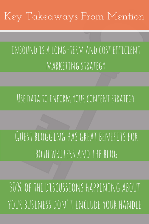 Key Takeaways From Mention