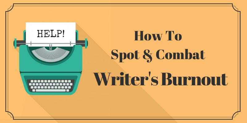 writer's burnout