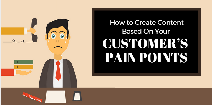 How to Create Content Based On Your Customer's Pain Points