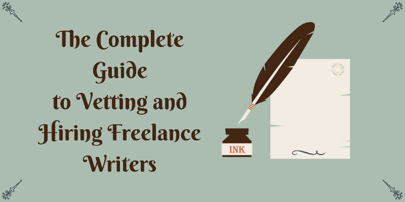 Hiring Freelance Writers