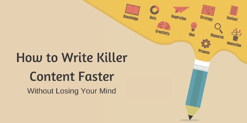 write content faster